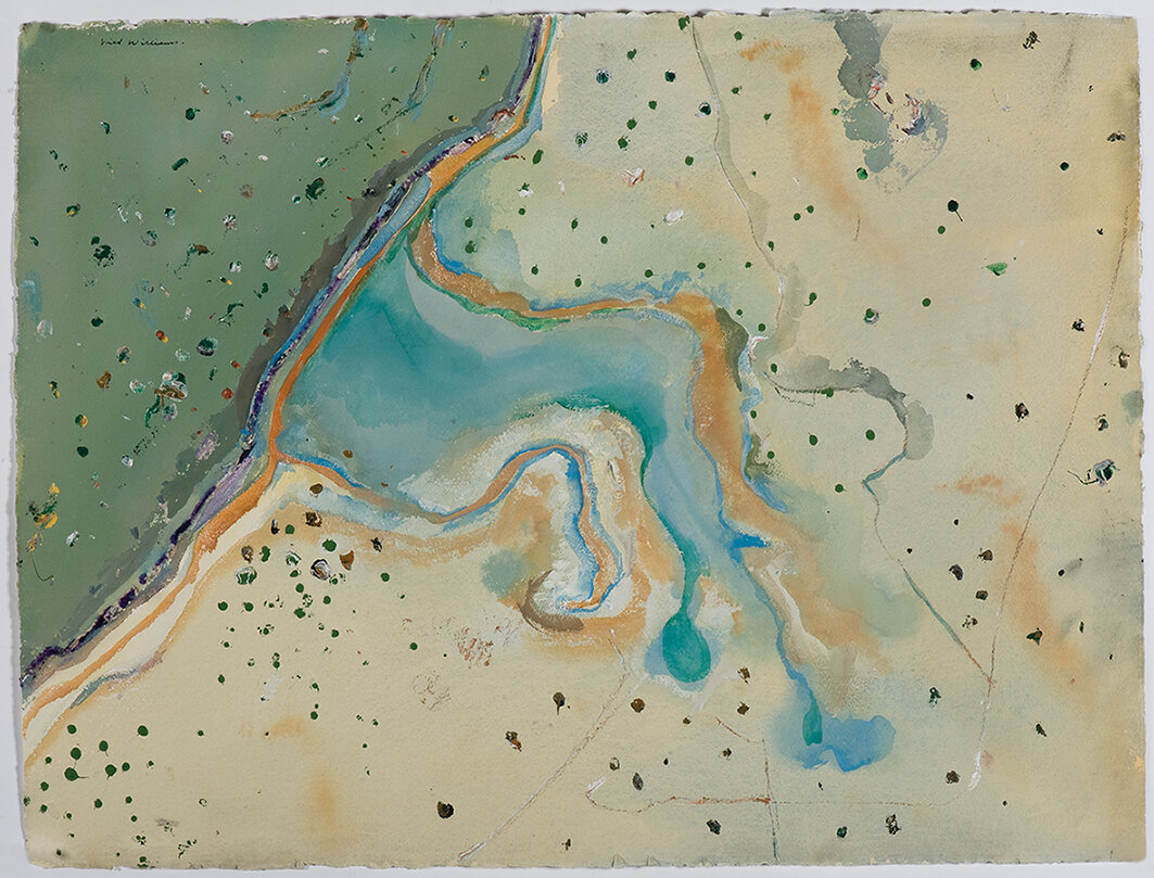 Inlet, Weipa By Fred Williams - Cairns Art Gallery